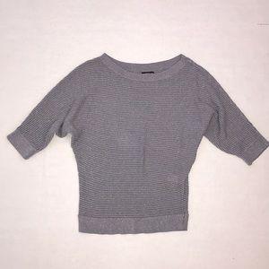 Express Gray Glitter Sweater